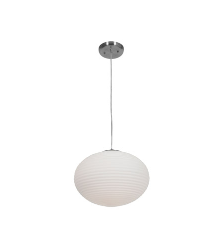 Access 50180-BS/OPL Callisto 2 Light 15 inch Brushed Steel Pendant Ceiling Light photo