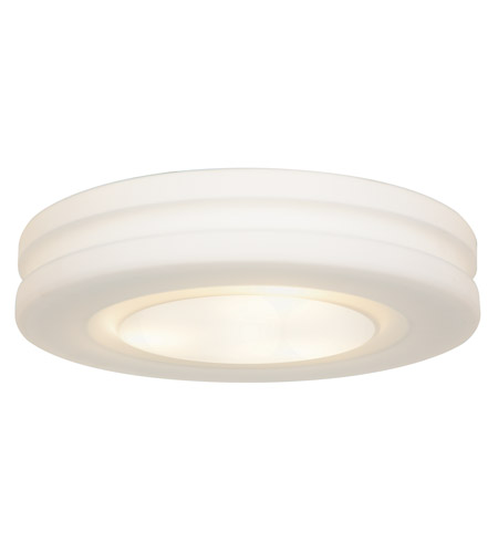 Access Lighting Altum 1 Light Flush Mount in White 50188LED-WH/OPL photo