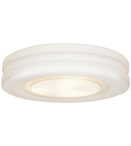 Access Lighting Altum 3 Light OPL Glass Flushmount in White with Opal Glass 50189-WH/OPL photo