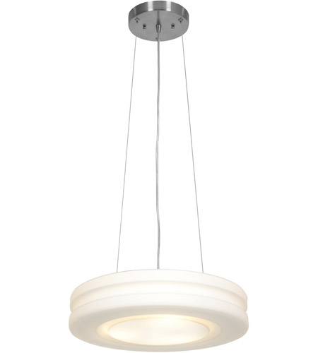Access 50190LED-BS/OPL Altum LED 16 inch Brushed Steel Pendant Ceiling Light photo