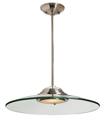 Access 50444-BS/8CL Phoebe 1 Light 19 inch Brushed Steel Pendant Ceiling Light in Incandescent photo