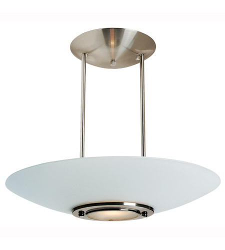 Access Lighting Argon 1 Light Pendant in Brushed Steel 50454-BS/FST photo