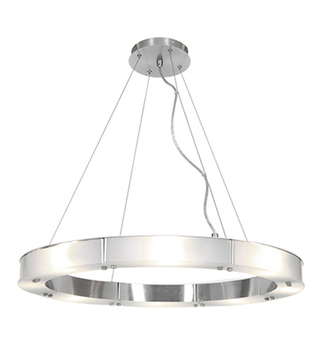 Access 50466-BS/FST Oracle 8 Light 28 inch Brushed Steel Chandelier Ceiling Light  photo