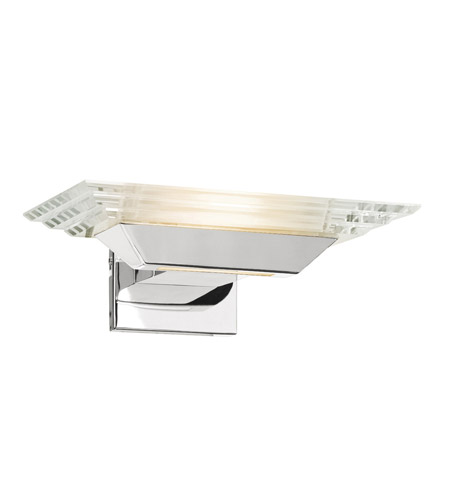 Access Lighting Silica 1 Light Sconce in Chrome 50470-CH/CCL photo