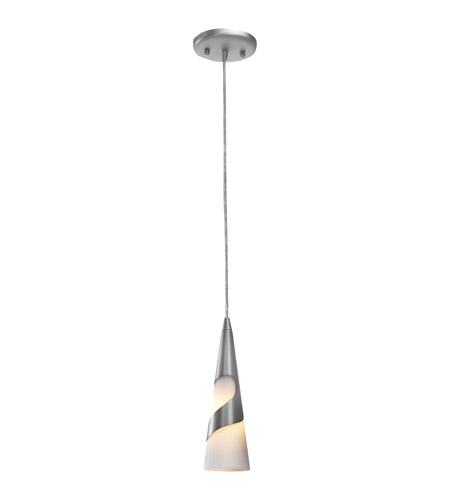 Access 50501-BS/OPL Onyx 1 Light 3 inch Brushed Steel Pendant Ceiling Light photo