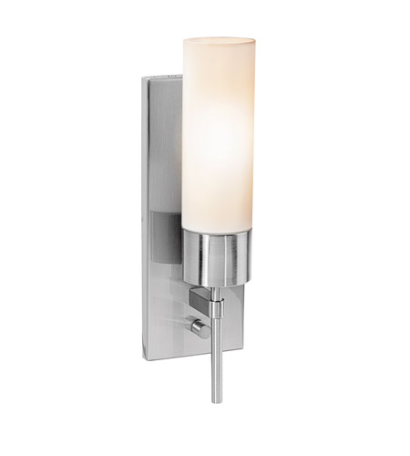 Access 50562-BS/OPL Aqueous 1 Light 4 inch Brushed Steel ADA Sconce Wall Light photo