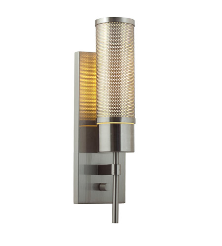 Access C50562BSOPLEN1113BS Iron 1 Light 4 inch Brushed Steel Vanity Wall Light photo