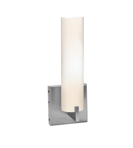 Access 50565-BS/OPL Oracle 1 Light 4 inch Brushed Steel Vanity Wall Light photo