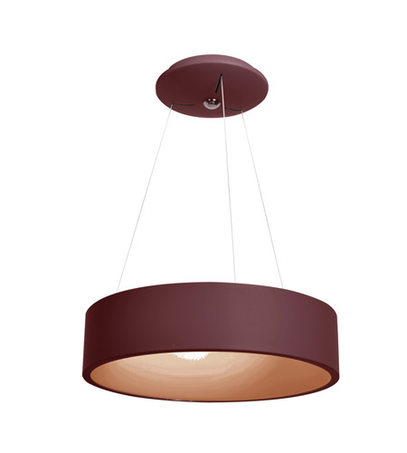 Access 50940ledd brkacr radiant led 18 inch brick pendant ceiling light aloadofball Choice Image