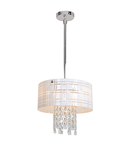 Access Lighting Kalista 4 Light Pendant in Chrome 50972-CH/WH photo