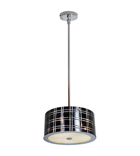 Access Lighting Kalista 3 Light Pendant in Chrome 50975-CH/BL photo