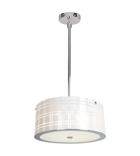 Access Lighting Kalista 6 Light Pendant in Chrome 50976-CH/WH photo