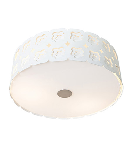 Access Lighting Lacey 3 Light Flush Mount in Chrome 50992-CRM photo