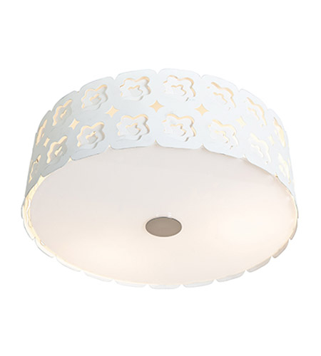 Access Lighting Lacey 3 Light Flush Mount in Chrome 50993-CRM photo
