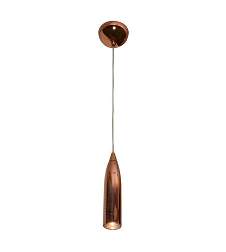 Access 52001-RGLD Odyssey 1 Light 2 inch Rose Gold Pendant Ceiling Light in Halogen, Dome photo