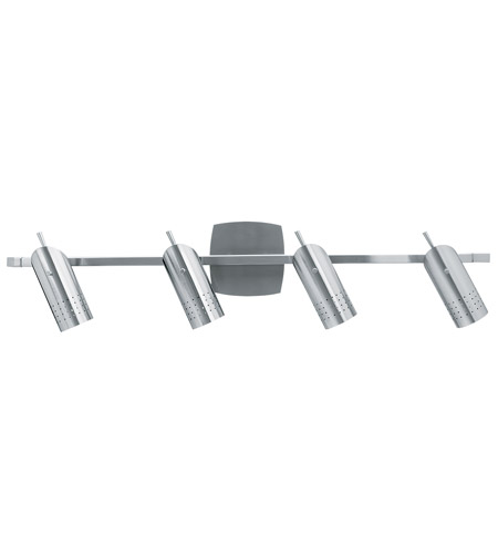 Access Lighting Odyssey 4 Light Vanity in Brushed Steel 52020-BS photo