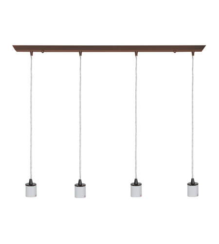 Access 52024FC-ORB Quada 4 Light 2 inch Oil Rubbed Bronze Pendant Ceiling Light photo