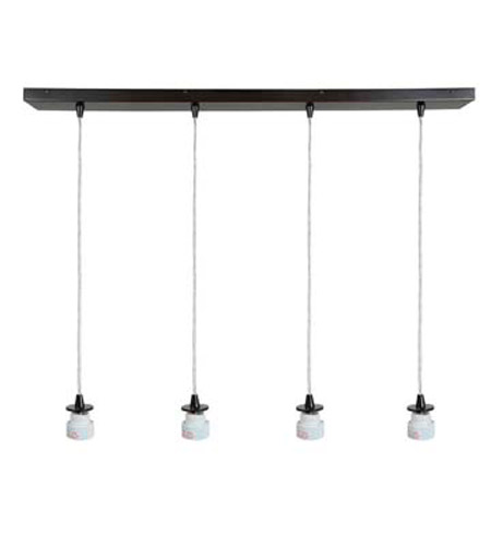 Access Lighting Trinity 3 Light Maxi Pendant in Oil Rubbed Bronze 52026-ORB photo