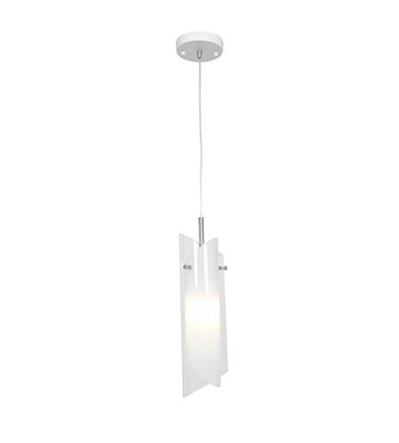 Access 52062-BS/CLOP Gyro 1 Light 4 inch Brushed Steel Pendant Ceiling Light photo
