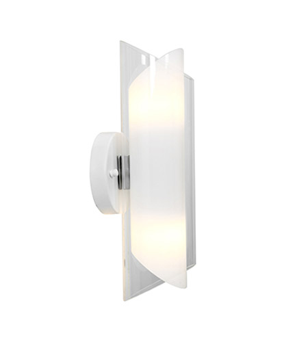 Access 52063-BS/CLOP Gyro 2 Light Brushed Steel Wall Wall Light  photo
