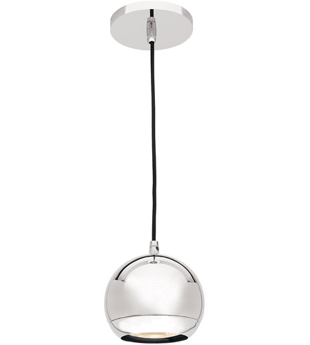 Access Lighting Retro 1 Light Pendant in Chrome 52102-CH photo