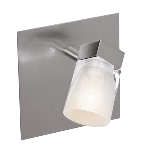 Access Lighting Ryan 1 Light Spotlight in Brushed Steel 52141-BS/FCL photo