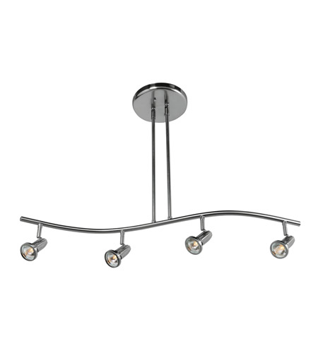 Access 52206LEDD-BS Cobra LED Brushed Steel Pendant Ceiling Light photo