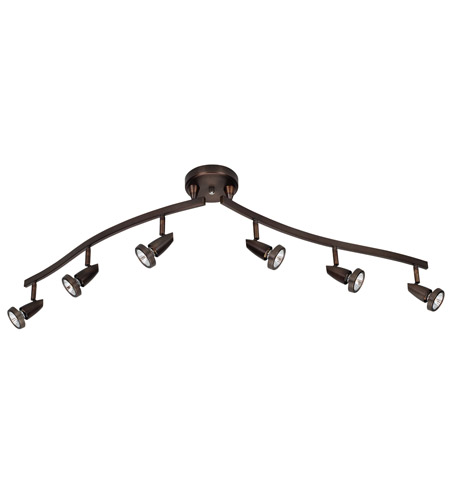 Access Lighting Mirage 6 Light Semi-Flush in Bronze 52226-BRZ photo