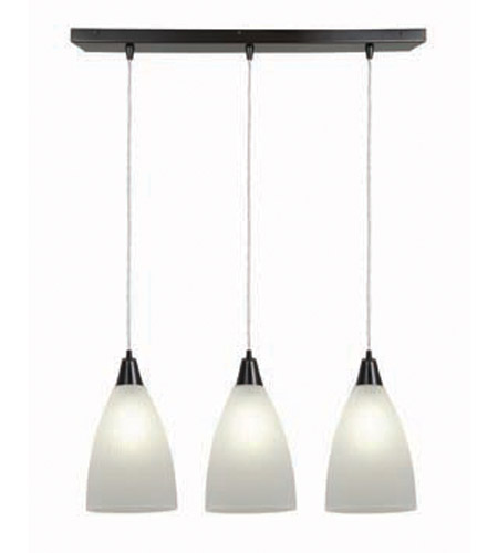Access Lighting Tsuki 3 Light Maxi Pendant in Oil Rubbed Bronze 52306-ORB/RFR photo