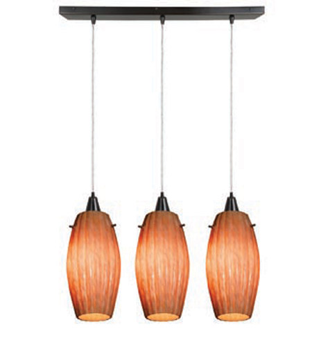 Access Lighting Fleur 3 Light Maxi Pendant in Oil Rubbed Bronze 52376-ORB/AMM photo