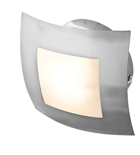 Access 53342-BS/OPL Argon 1 Light 7 inch Brushed Steel Flush Mount Ceiling Light photo