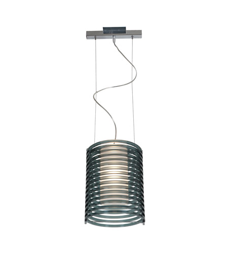 Access Lighting Enzo 1 Light Pendant in Chrome 55525-CH/ASM photo