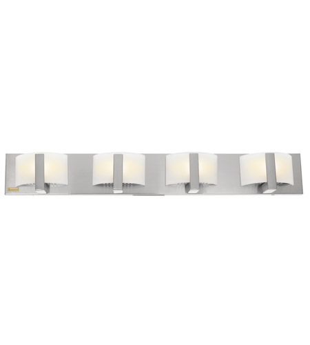 Access 62034-BS/OPL Oracle 4 Light 32 inch Brushed Steel Vanity Wall Light photo