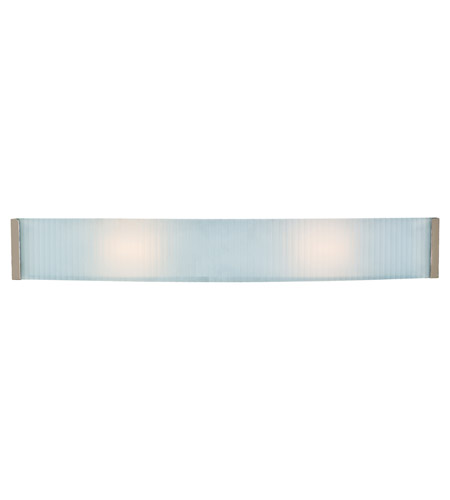 Access C62043BSCKFEH12245 Helium 2 Light 32 inch Brushed Steel Vanity Light Wall Light photo