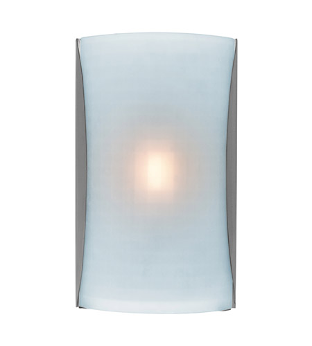 Access Lighting Radon 1 Light Wall Sconce in Brushed Steel 62050LED-BS/CKF photo