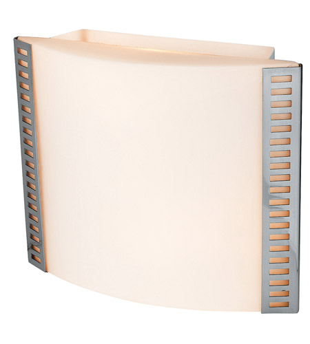 Access Lighting Sulphur 2 Light Sconce in Brushed Steel 62056-BS/OPL photo