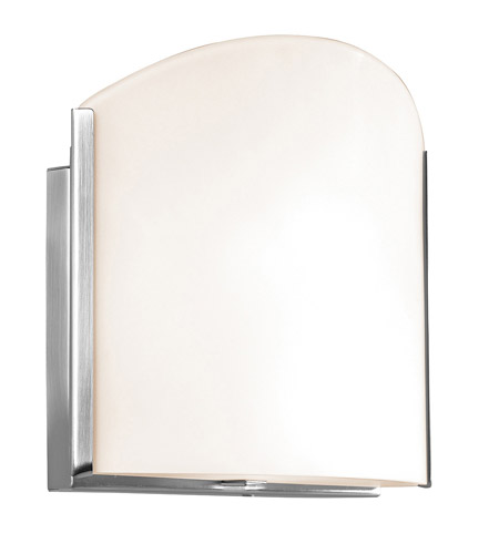 Access Lighting Sulphur 2 Light Sconce in Brushed Steel 62057-BS/OPL photo