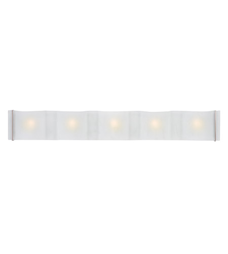 Access 62070-BS/FST Mercury 5 Light 36 inch Brushed Steel Vanity Wall Light in  36.25 inch photo