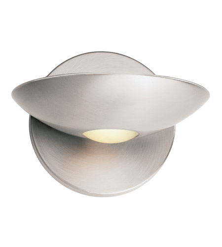 Access Lighting Helius 1 Light Sconce in Brushed Steel 62084-BS/FST photo