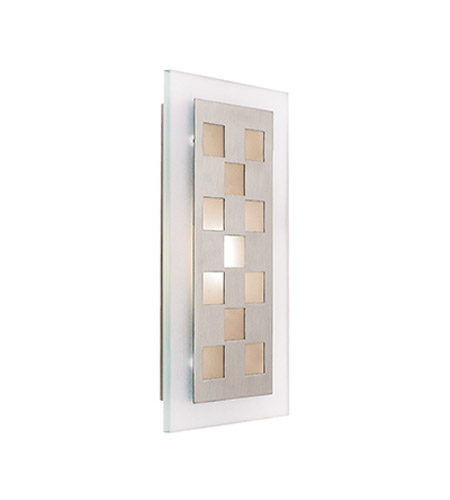 Access 62095-BS/FST Aquarius 1 Light 8 inch Brushed Steel ADA Sconce Wall Light in Incandescent photo