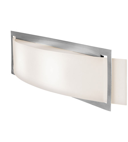 Access 62105-BS/OPL Argon 2 Light 23 inch Brushed Steel Vanity Wall Light in Halogen photo