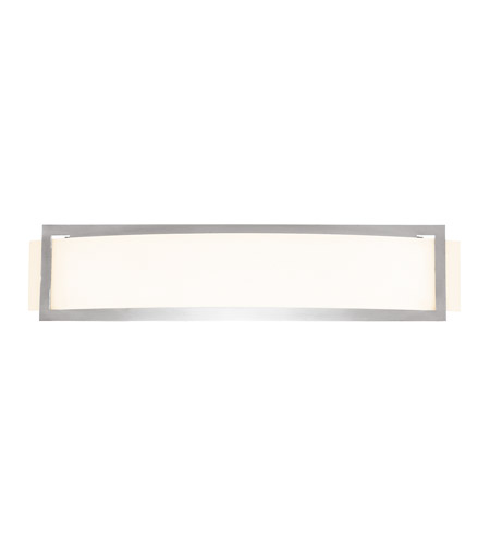 Access 62105LED-BS/OPL Argon LED 23 inch Brushed Steel ADA Wall Sconce Wall Light photo