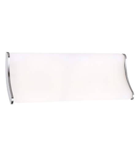 Access Lighting Neon 2 Light Vanity in Brushed Steel 62212-BS/OPL photo