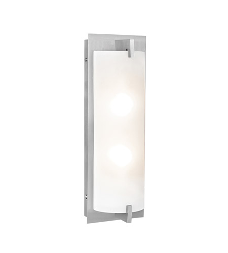 Access 62235LED-BS/OPL Bo LED 6 inch Brushed Steel ADA Wall Sconce Wall Light photo