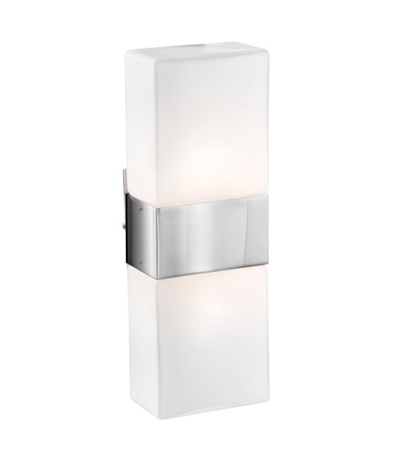 Access 62242-BS/OPL Nitros 2 Light 6 inch Brushed Steel ADA Sconce Wall Light photo