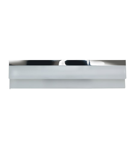 access linear led 18 inch chrome vanity light wall light in