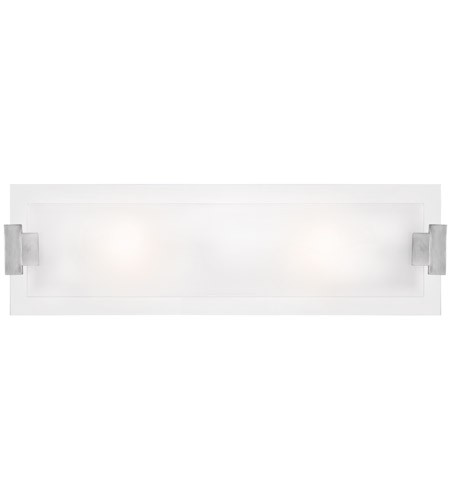 Access 62256-BS/FST Plasma 2 Light 12 inch Brushed Steel Vanity Wall Light in  24 inch photo