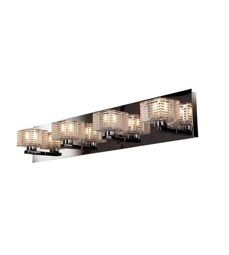 Access 62283-CH/CLFR Sophie 4 Light 26 inch Chrome Vanity Light Wall Light
