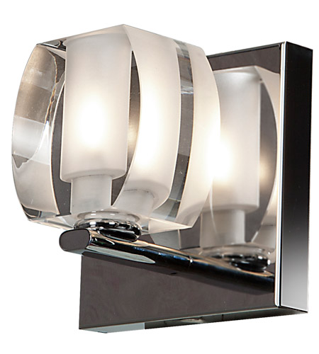 Access Chrome Evia Bathroom Vanity Lights