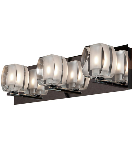 Access 62288LEDD-CH/CRY Evia LED 19 inch Chrome Vanity Light Wall Light photo